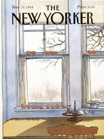 The New Yorker Cover - November 19, 1984 by Arthur Getz
