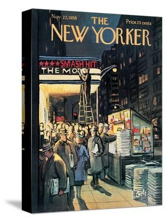 The New Yorker Cover - November 22, 1958
