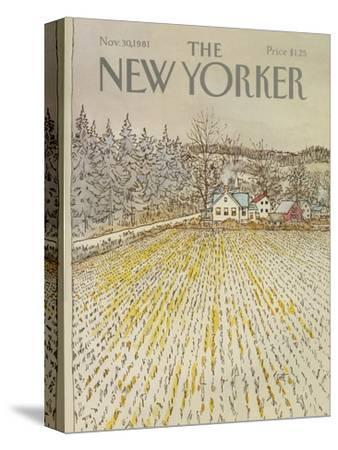 The New Yorker Cover - November 30, 1981