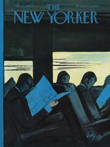 The New Yorker Cover - November 4, 1961 by Arthur Getz