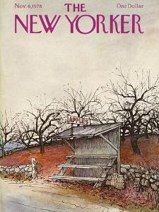 The New Yorker Cover - November 6, 1978 by Arthur Getz