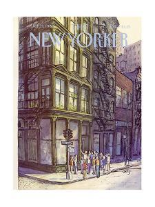 The New Yorker Cover - October 13, 1980 by Arthur Getz