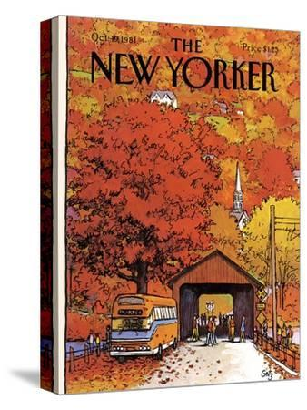 The New Yorker Cover - October 19, 1981