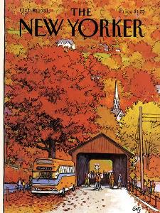 The New Yorker Cover - October 19, 1981 by Arthur Getz