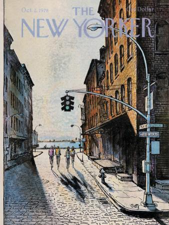 The New Yorker Cover - October 2, 1978