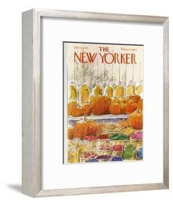 The New Yorker Cover - October 25, 1976 by Arthur Getz