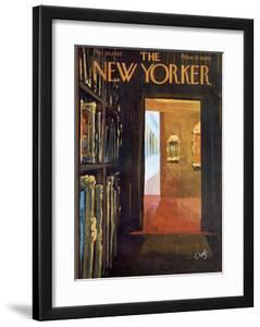 The New Yorker Cover - October 26, 1963 by Arthur Getz