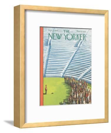 The New Yorker Cover - September 11, 1954