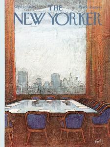The New Yorker Cover - September 17, 1973 by Arthur Getz