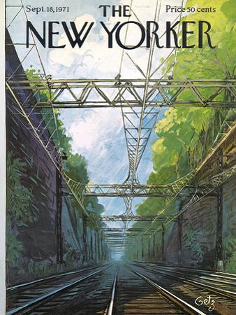 The New Yorker Cover - September 18, 1971 by Arthur Getz