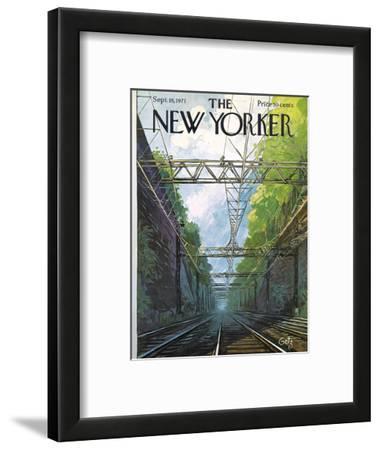 The New Yorker Cover - September 18, 1971
