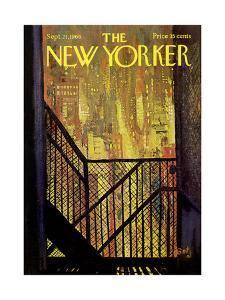The New Yorker Cover - September 21, 1968 by Arthur Getz