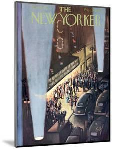 The New Yorker Cover - September 26, 1953 by Arthur Getz