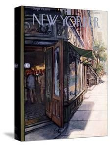 The New Yorker Cover - September 29, 1956 by Arthur Getz