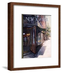 The New Yorker Cover - September 29, 1956 by Arthur Getz