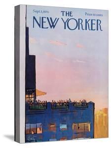 The New Yorker Cover - September 5, 1970 by Arthur Getz