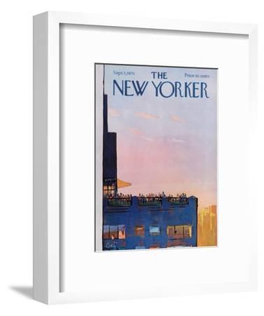 The New Yorker Cover - September 5, 1970