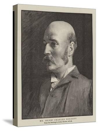 Mr Henry Charles Burdett