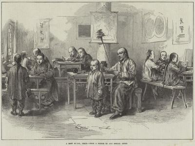 A Boys School, Pekin by Arthur Hopkins
