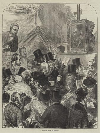 A Picture Sale in London by Arthur Hopkins