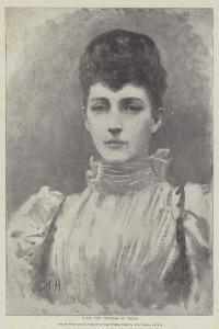 Hrh the Princess of Wales by Arthur Hopkins