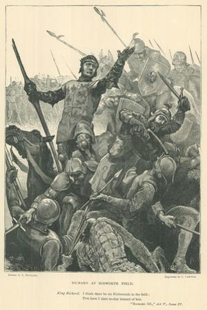 Illustration for King Richard III by Arthur Hopkins