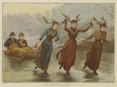 Our Reindeer Sleigh by Arthur Hopkins