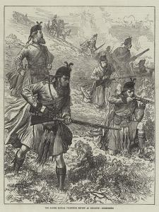The Easter Monday Volunteer Review at Brighton, Skirmishers by Arthur Hopkins