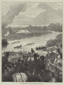 The International Four-Oared Boat-Race, the Start by Arthur Hopkins