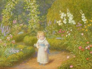 Alice in Wonderland by Arthur Hughes