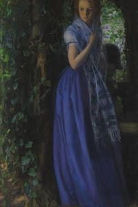 April Love by Arthur Hughes