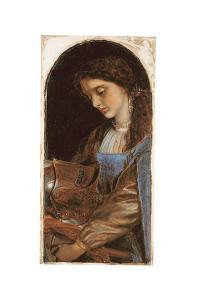 Elaine with the Armour of Lancelot, 1870 by Arthur Hughes