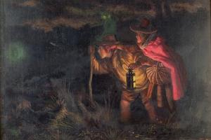 Jack O'Lantern, 1872 by Arthur Hughes