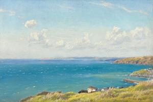 Mount's Bay, C.1899 by Arthur Hughes