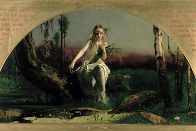 Ophelia, 1852