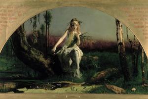Ophelia, 1852 by Arthur Hughes