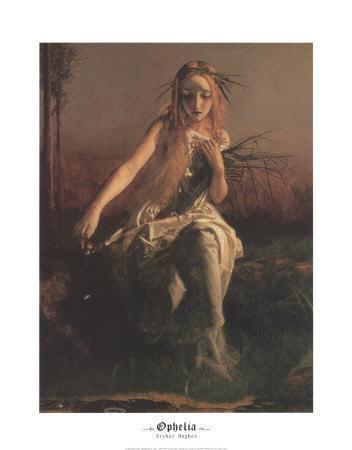 Ophelia (detail)