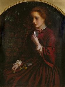 Pansies, C.1860 by Arthur Hughes