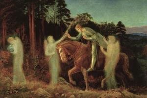 Sir Galahad, 1867-1892 by Arthur Hughes