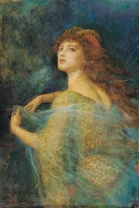 The Enchantress by Arthur Hughes