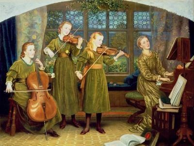 The Home Quartet: Mrs Vernon Lushington and Her Children, 1883