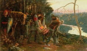 The Knight of the Sun, 1893 by Arthur Hughes