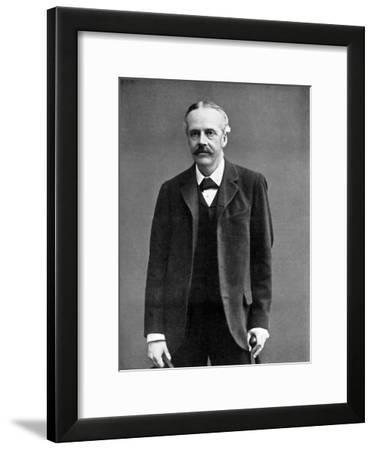 Arthur James Balfour, 1st Earl of Balfour, British Statesman and Prime Minister, 1912--Framed Giclee Print