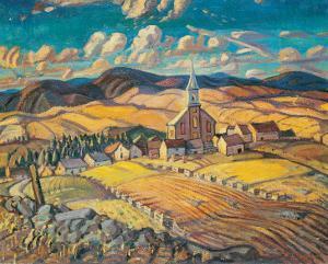 Saint-Hilarion by Arthur Lismer