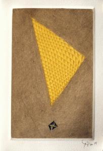 Triangle jaune by Arthur Luiz Piza