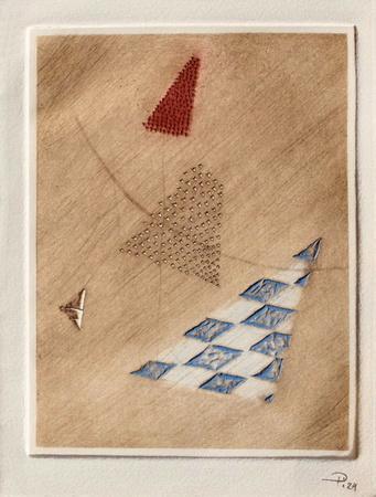 Triangle Rouge Limited Edition Arthur Luiz Piza Art Com