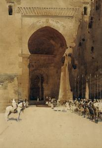 The Gate of Justice, 1890 by Arthur Melville