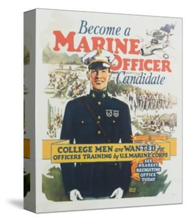 Become a Marine Officer Candidate Poster