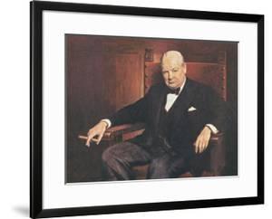Sir Winston Churchill by Arthur Pan