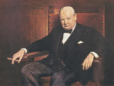 Sir Winston Churchill by Arthur Pan